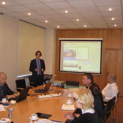 Apspriede par Biznesa inkubatoru Salaspils novadā